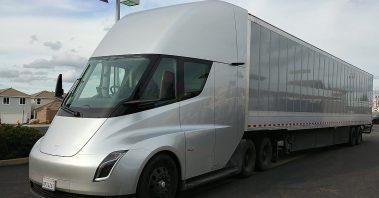 electric semi-truck