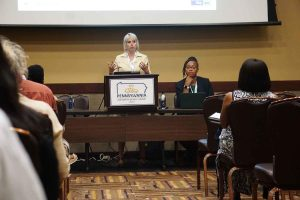 PA AV Summit - Allante Whitmore Moderating a Session