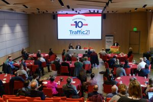 Photos from the Traffic21 Symposium