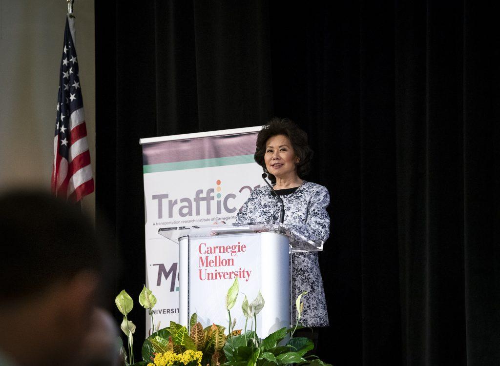 Secretary Elaine Chao at Traffic21