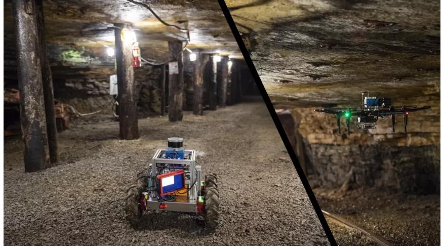 Robot-drone-underground-darpa-challenge