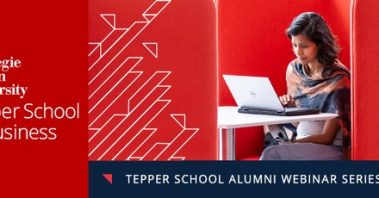 tepper school of business webinar series