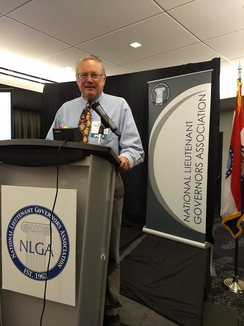 Chris at National Lt. Governors Association