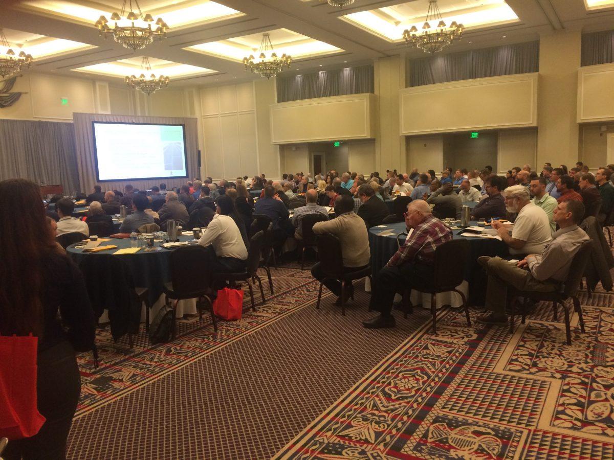 Photo of audience in Virginia
