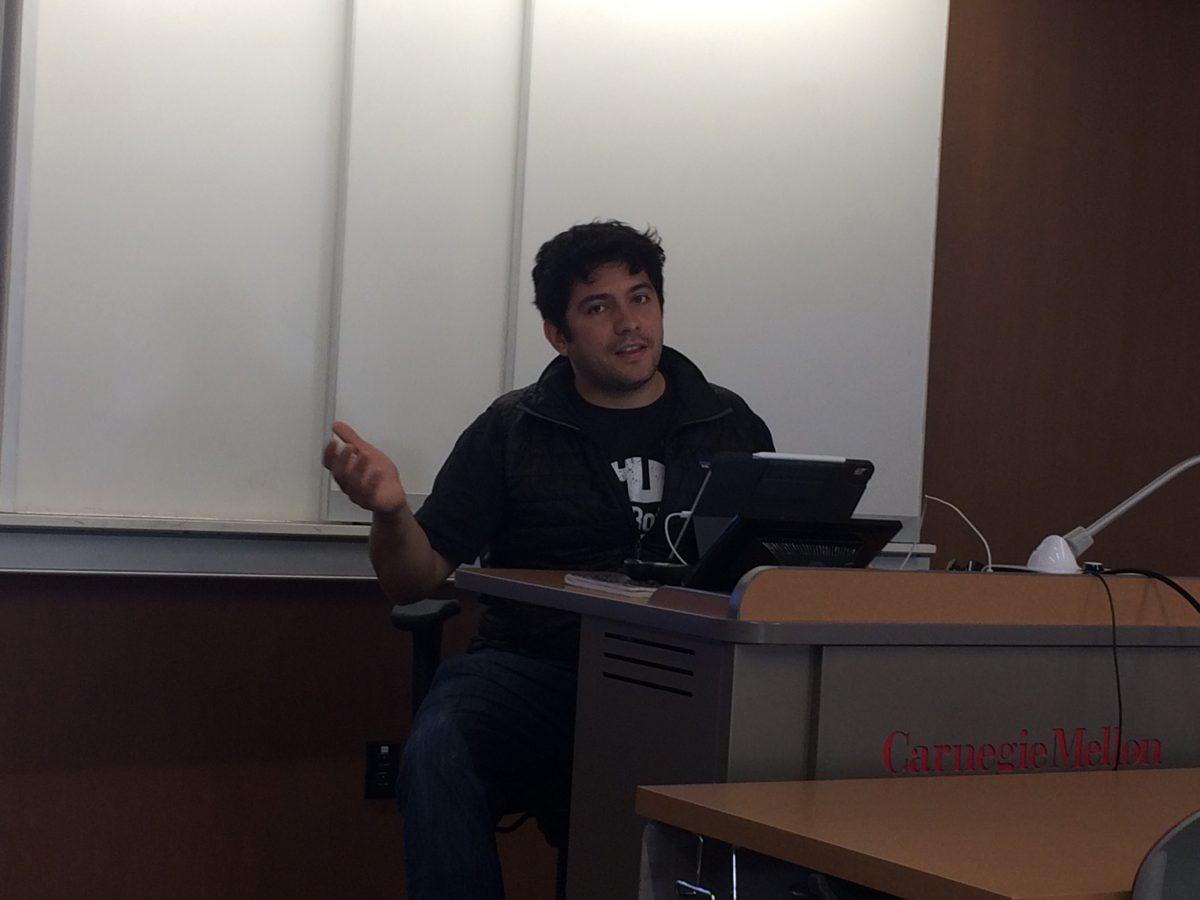 Photo from Roadbotics Presentation