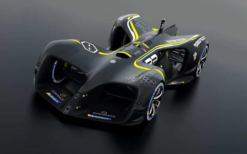Roborace Vehicle