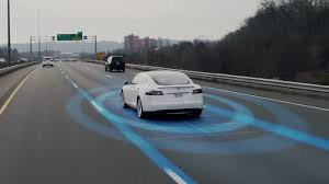 Photo of Tesla Autopilot Vehicle