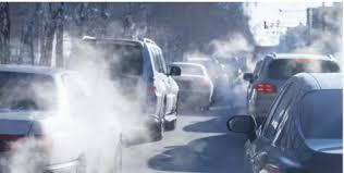 Photo of vehicle emissions