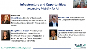 2021 National Mobility Summit - Infrastructure & Opportunities - Carol Wright