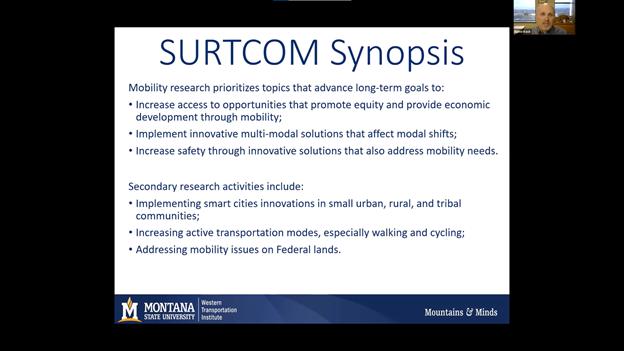 2021 National Mobility Summit - SURTCOM